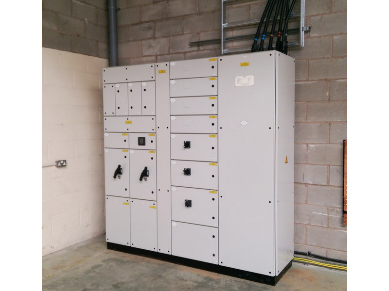 Installation of substation for Amann Group