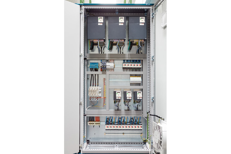 Electrical control panel 2
