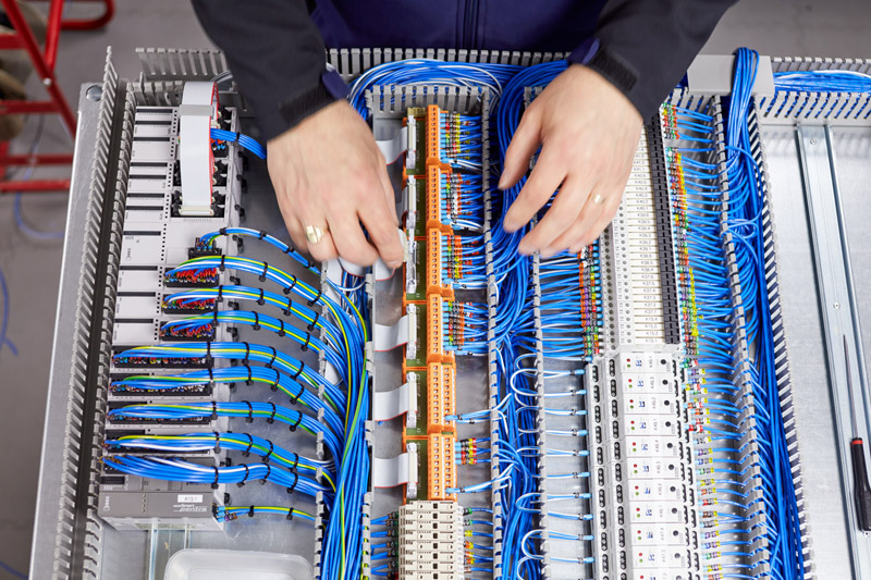 Electrical control panel 3