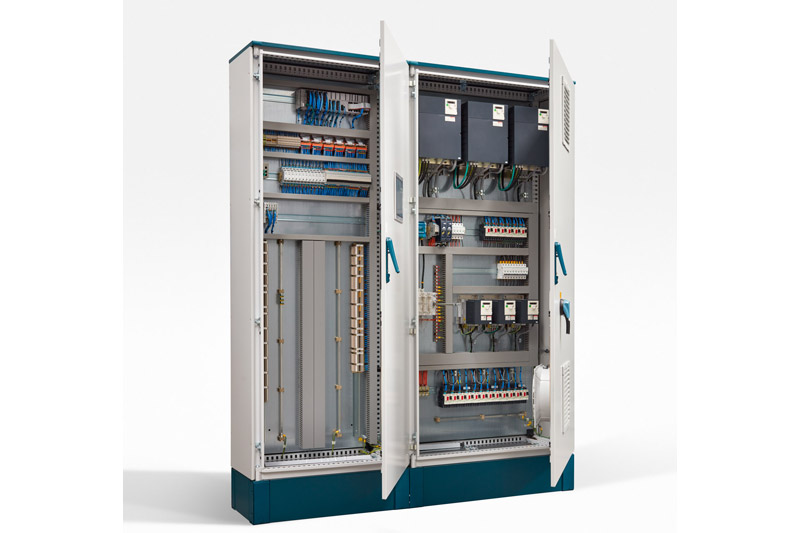 Electrical control panel 6