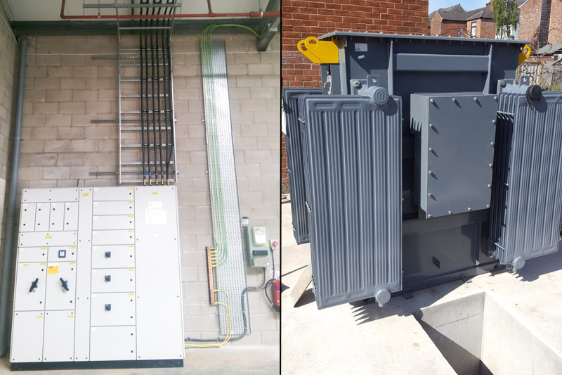 switchgear and substations